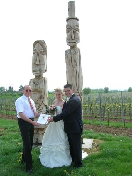 Zur Hochzeit ein Hochzeitszwingert