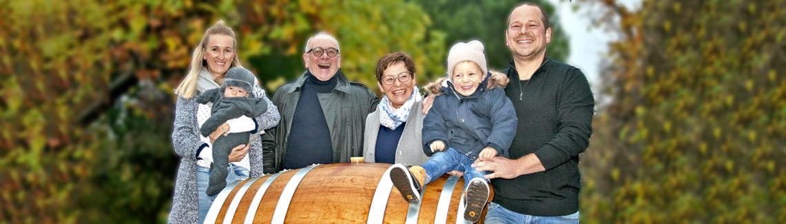 Familie Pfaffmann vom WEIN. GUT. PAN im Herbst 2020