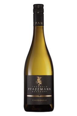 Flaschen 2019 Chardonnay trocken fermentiert im kleinen Holzfass